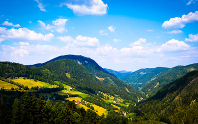 The view from Annaberg wallpaper