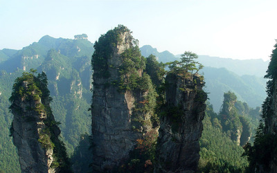 Tianzi mountains, China wallpaper