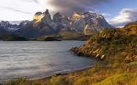 Torres del Paine National Park wallpaper 1920x1080 jpg