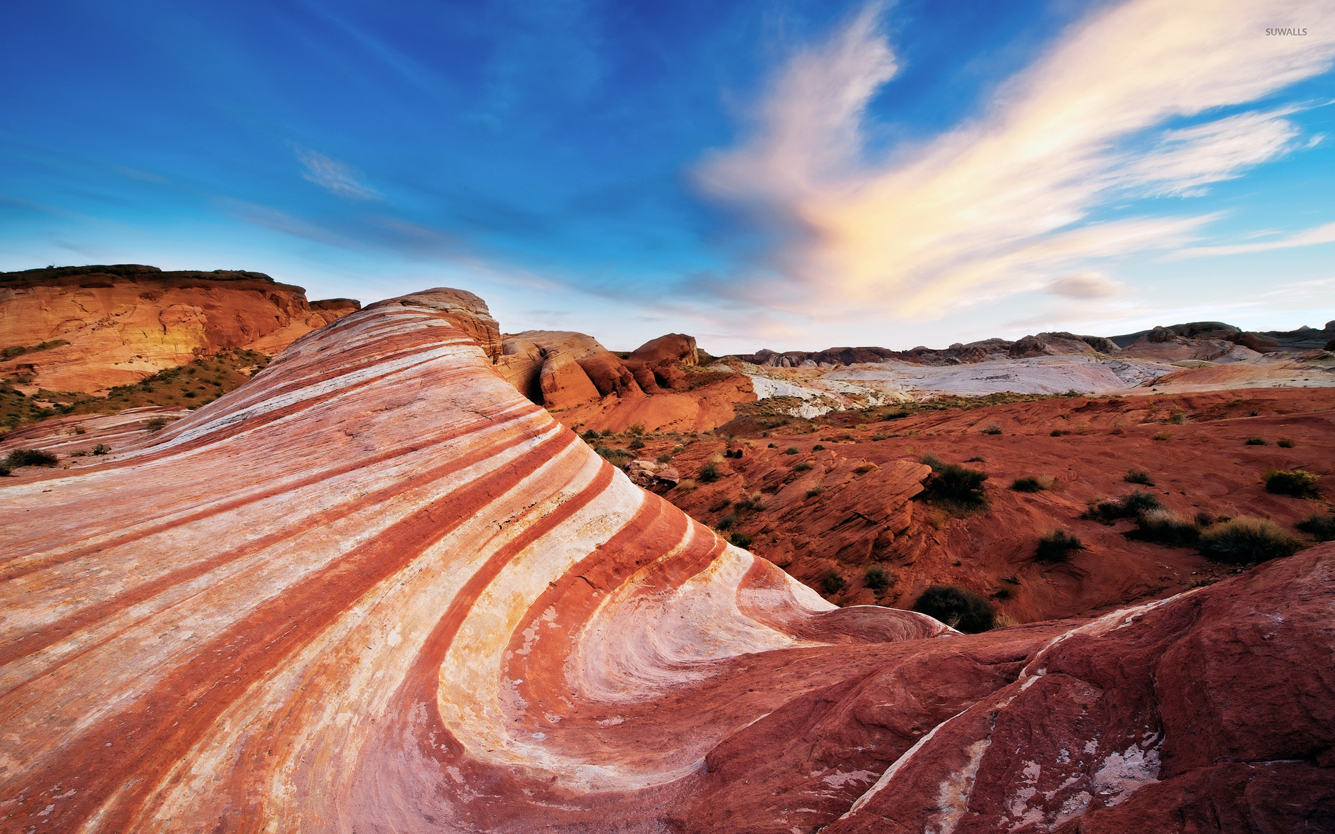 Nevada Nature: Valley Of Fire State Park Wallpaper