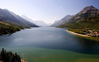 Waterton Lakes National Park wallpaper 1920x1200 jpg