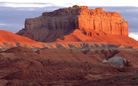Wild Horse Butte, Goblin Valley State Park wallpaper 1920x1200 jpg