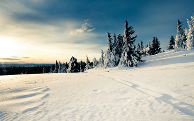 Winter landscape [2] wallpaper