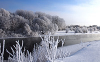 Winter landscape [4] wallpaper 1920x1200 jpg