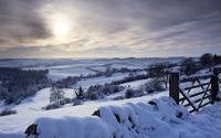 Winter landscape [5] wallpaper 1920x1080 jpg
