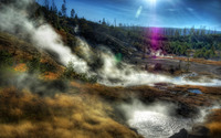 Yellowstone National Park wallpaper 1920x1200 jpg