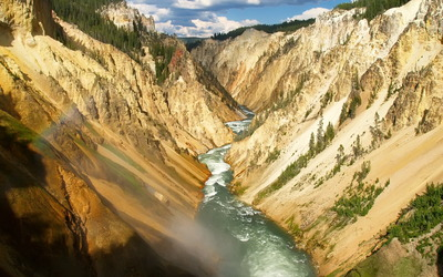 Yellowstone River wallpaper