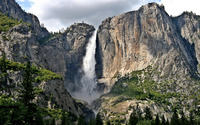 Yosemite Falls wallpaper 1920x1200 jpg