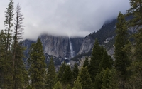 Yosemite Falls [8] wallpaper 1920x1200 jpg