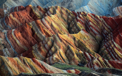 Zhangye Danxia wallpaper