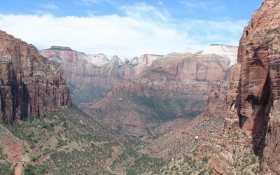 Zion Canyon wallpaper