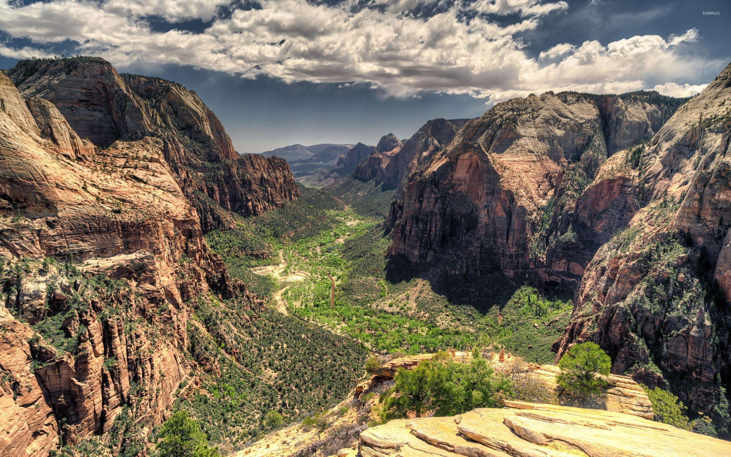 Zion National Park 2 Wallpaper Nature Wallpapers 35659