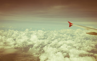 Airplane wing wallpaper 2880x1800 jpg