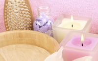 Aromatherapy candles wallpaper 2560x1600 jpg