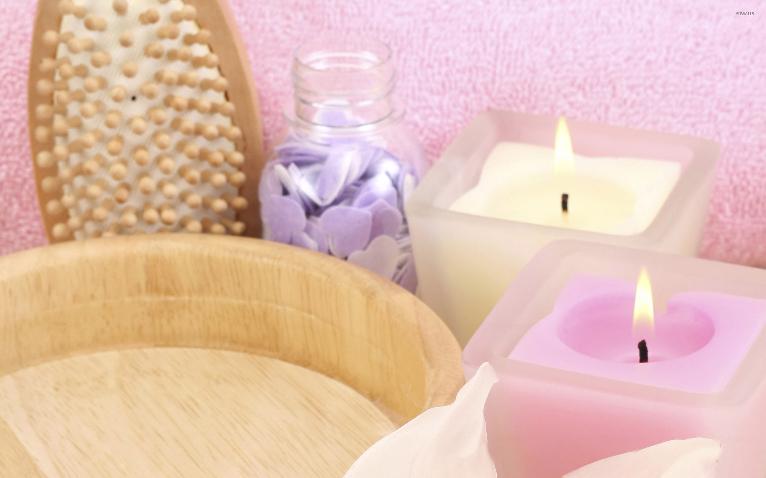 Aromatherapy Candles Wallpaper Photography Wallpapers 10802