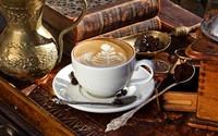 Art on coffee wallpaper 2560x1600 jpg