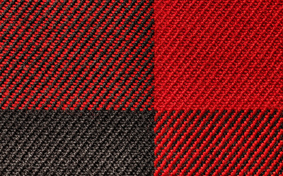 Black and red knit wallpaper