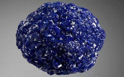 Blue crystal wallpaper
