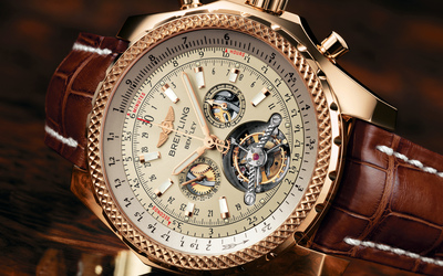 Breitling watch wallpaper