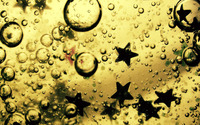 Bubbly stars wallpaper 1920x1200 jpg