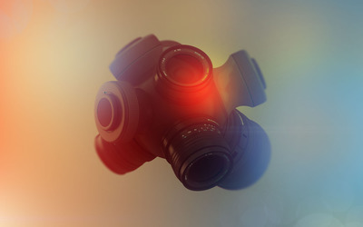 Camera lense merge wallpaper