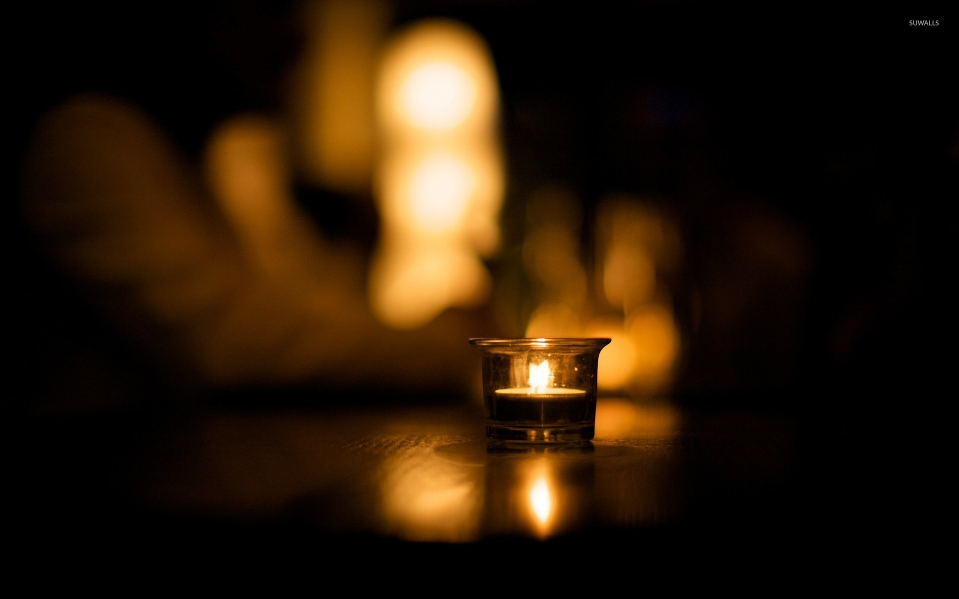 candle in the dark - photo #42