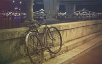 Chained vintage bike wallpaper 1920x1200 jpg