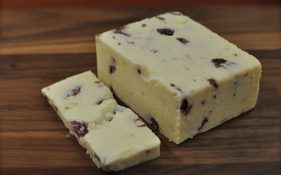 Cheese with cranberry wallpaper