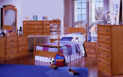 Child bedroom design wallpaper