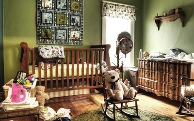 Children's room wallpaper