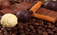Chocolate, cinnamon and coffee wallpaper 1920x1080 jpg