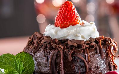 Chocolate dessert wallpaper