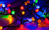 Christmas lights wallpaper 2880x1800 jpg