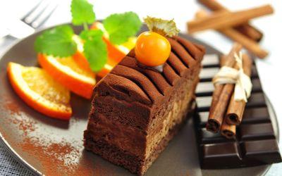 Cinnamon cake wallpaper