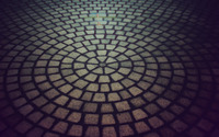 Circular pavement wallpaper 1920x1200 jpg