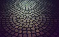 Circular pavement wallpaper 1920x1200 jpg