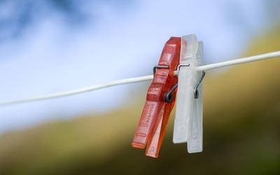 Clothespins wallpaper