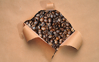 Coffee beans [2] wallpaper 1920x1200 jpg