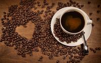 Coffee heart wallpaper 2560x1600 jpg