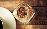 Coffee in the jar wallpaper 2560x1600 jpg