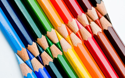 Colored pencils [2] wallpaper