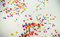Colorful balloons wallpaper 2560x1600 jpg