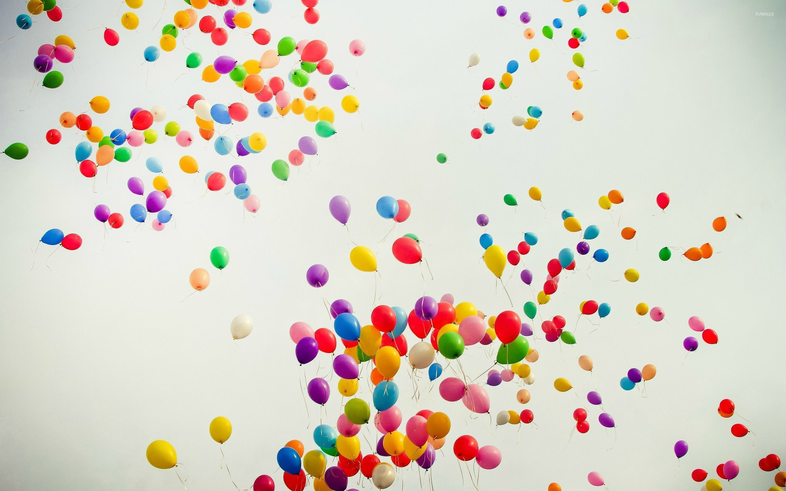 Colorful Balloons Wallpaper