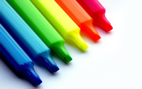 Colorful crayons wallpaper 1920x1200 jpg