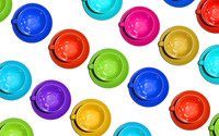 Colorful cups wallpaper 1920x1200 jpg