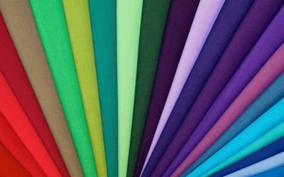 Colorful fabric lines wallpaper