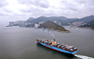 Container ship [2] wallpaper