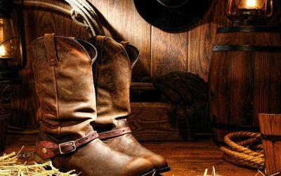Cowboy boots wallpaper