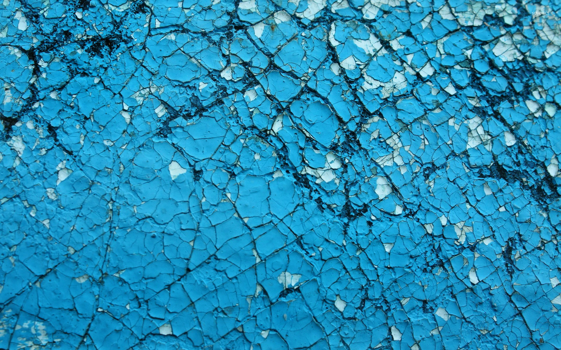 Cracked blue wall wallpaper photography wallpapers 22390 for Blue wallpaper for walls