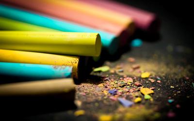 Crayons [2] wallpaper